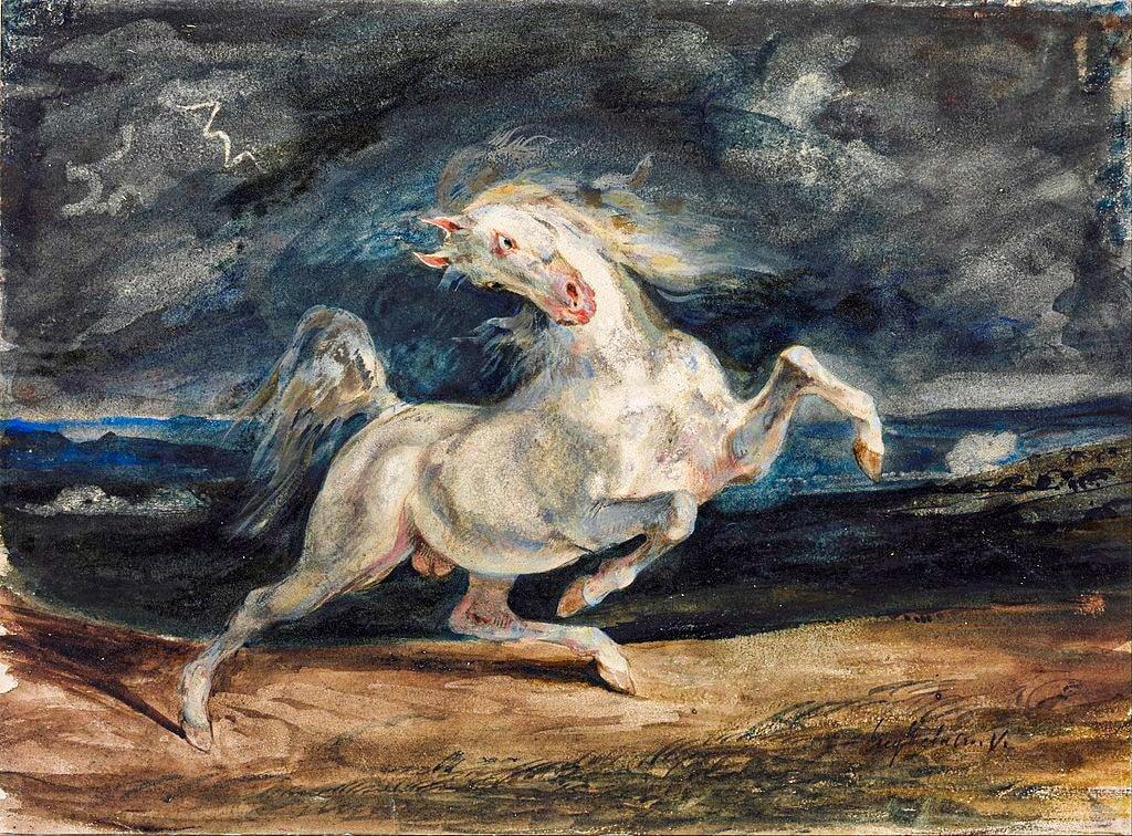Musée des Beaux-Arts de Budapest - Eugène Delacroix