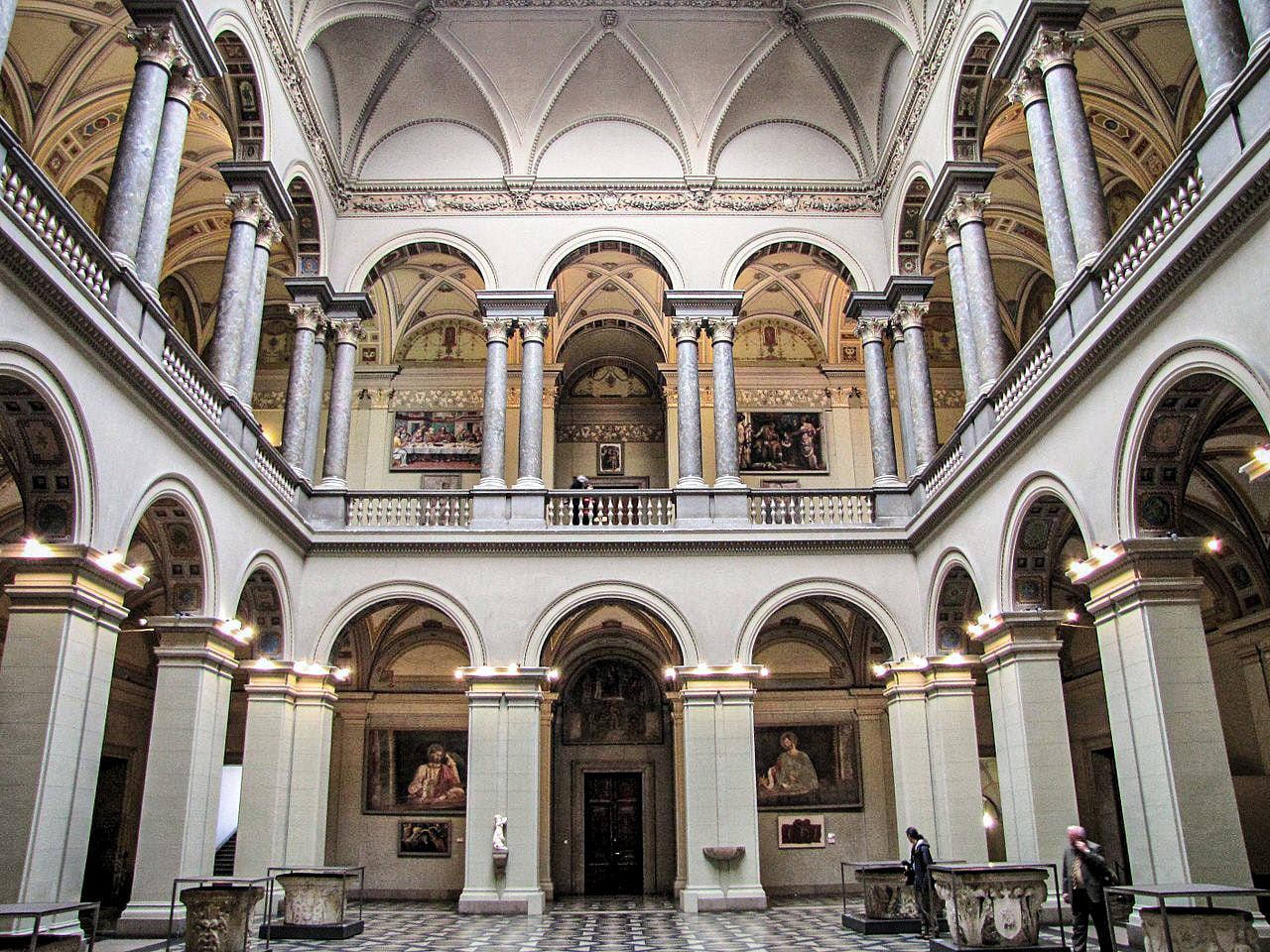 The Museum of Fine Arts of Budapest - interior