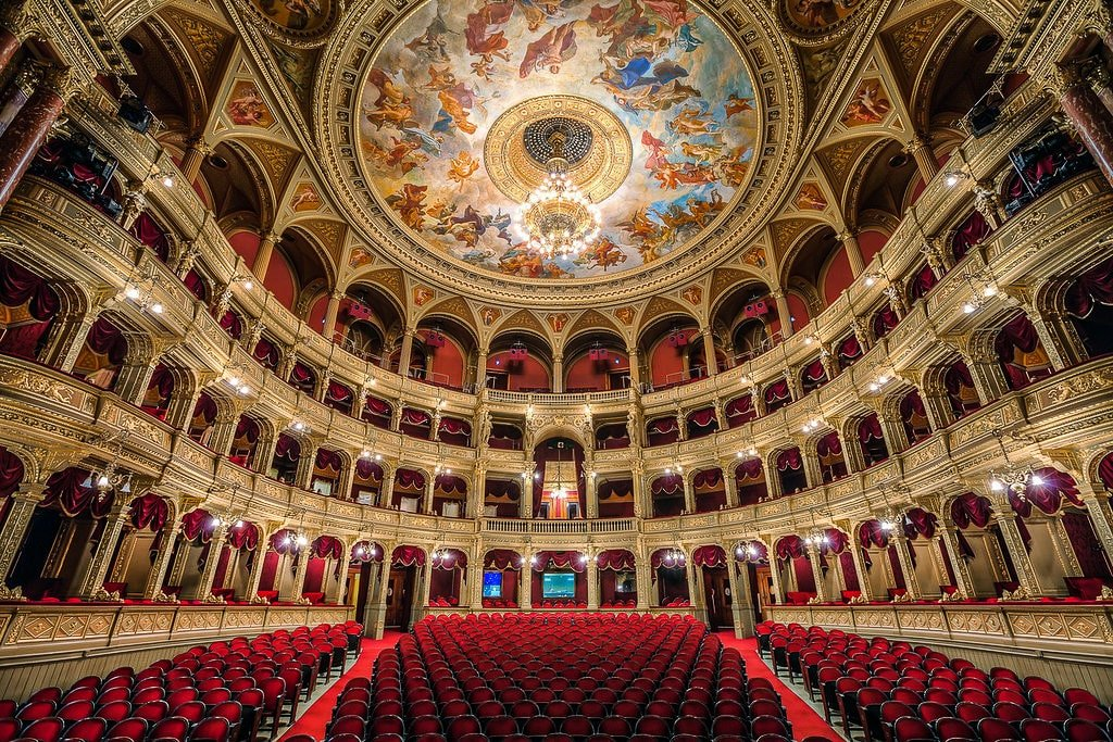 Budapest Opera House - auditorium