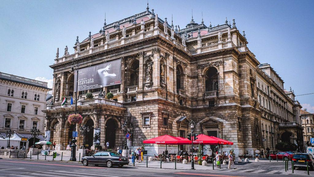 Opéra de Budapest - façade