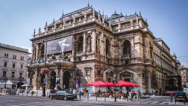 Budapest Opera House - facade