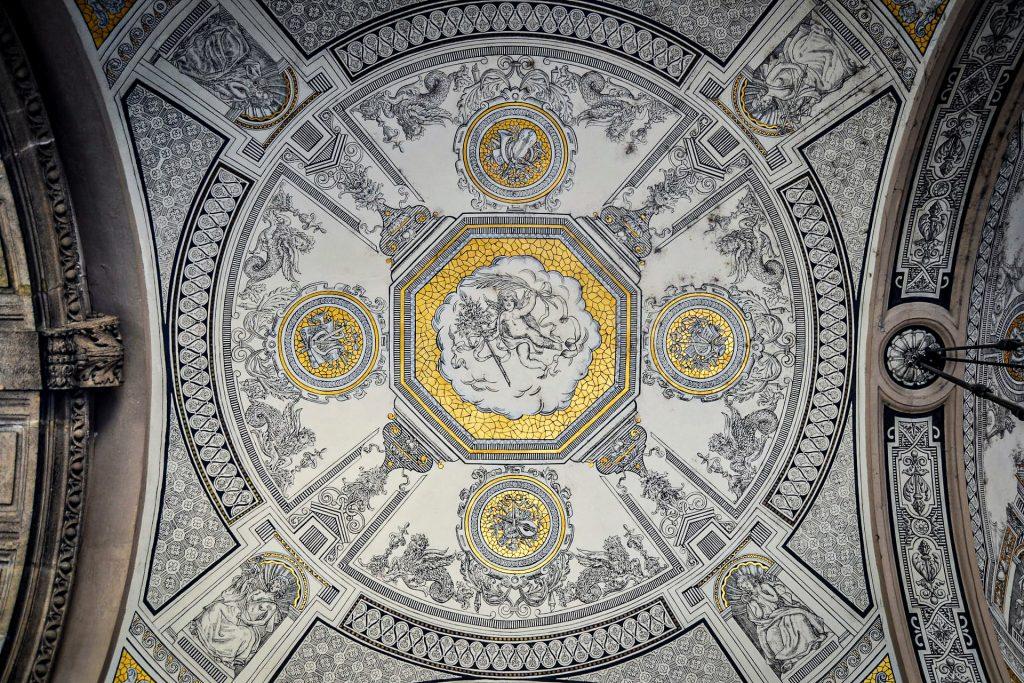 Opéra de Budapest - plafond