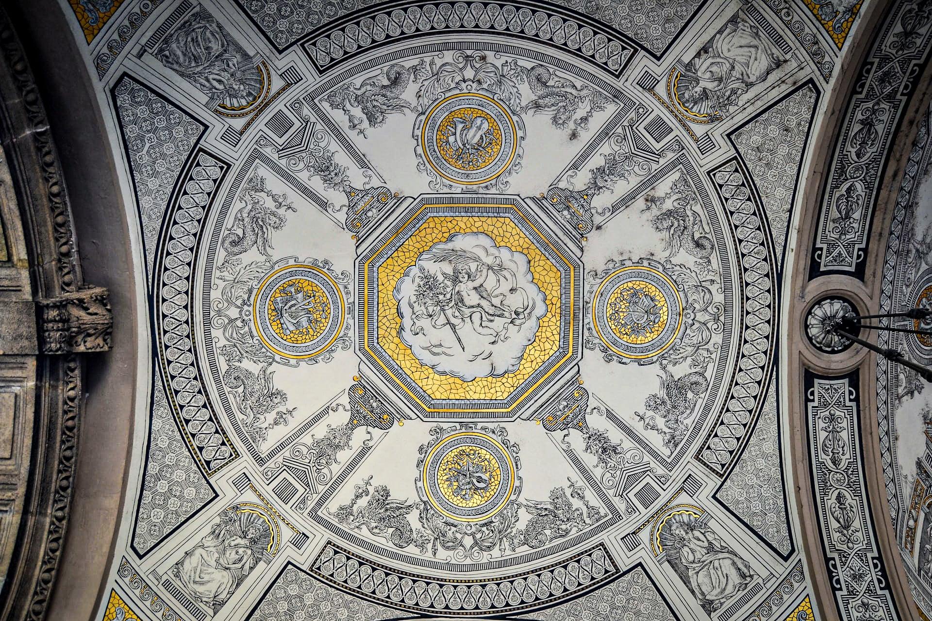 Budapest Opera House - ceiling