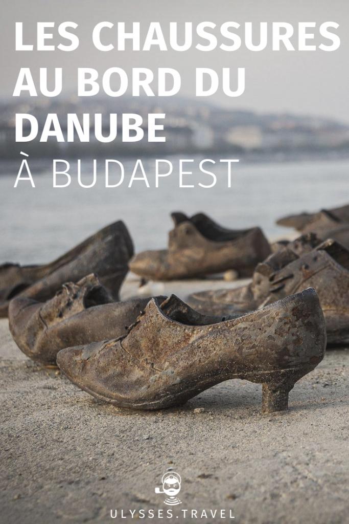 Chaussures au bord du Danube - Budapest - Pinterest