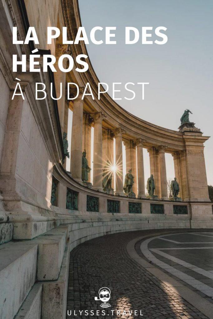Place des Héros - Budapest - Pinterest