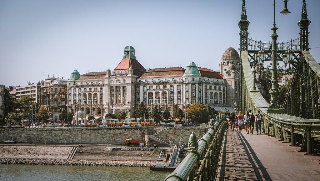 Bains Gellért - Budapest - extérieur