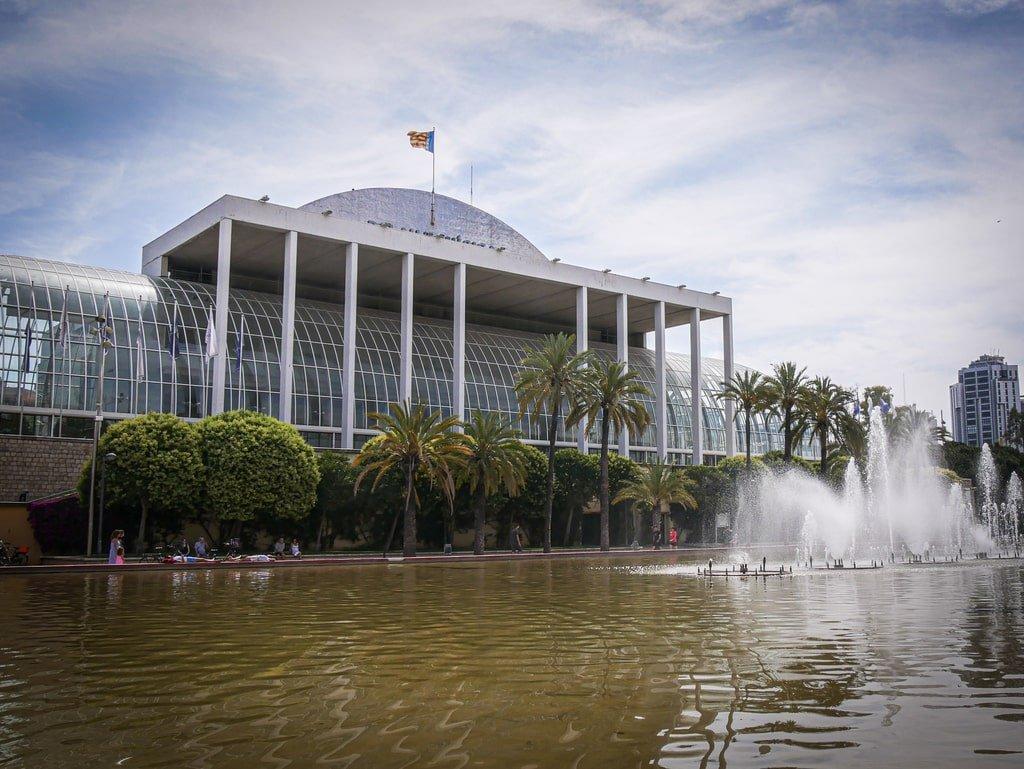 Jardins du Tùria - Valence - Palais de la Musique