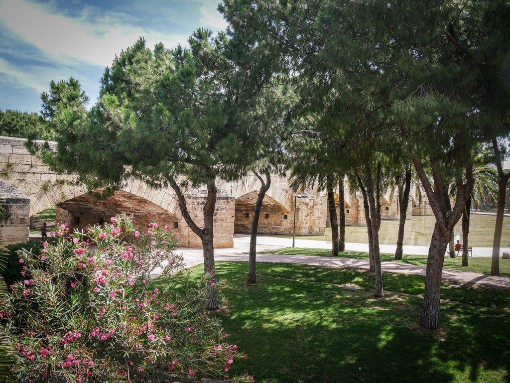 Jardins du Tùria - Valence - pont