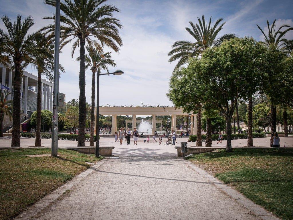 Jardins du Tùria - Valence
