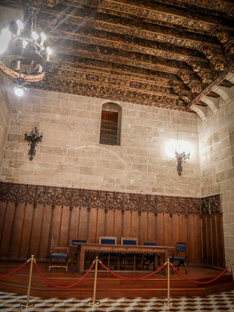 Loge de la Soie - Salle du Consulat de la Mer - Valence