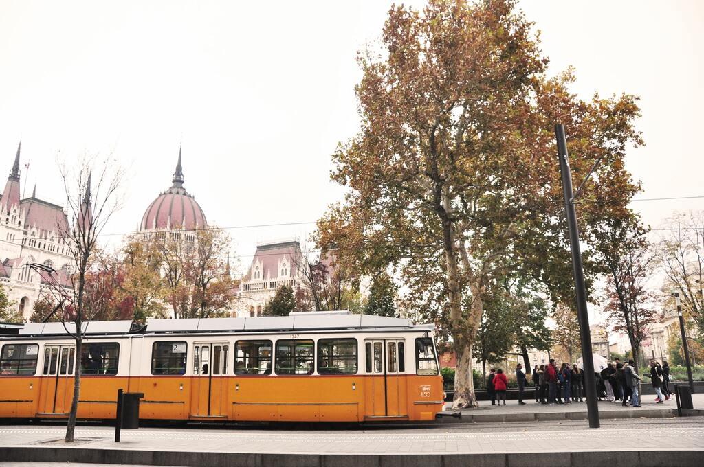 Tram-Budapest