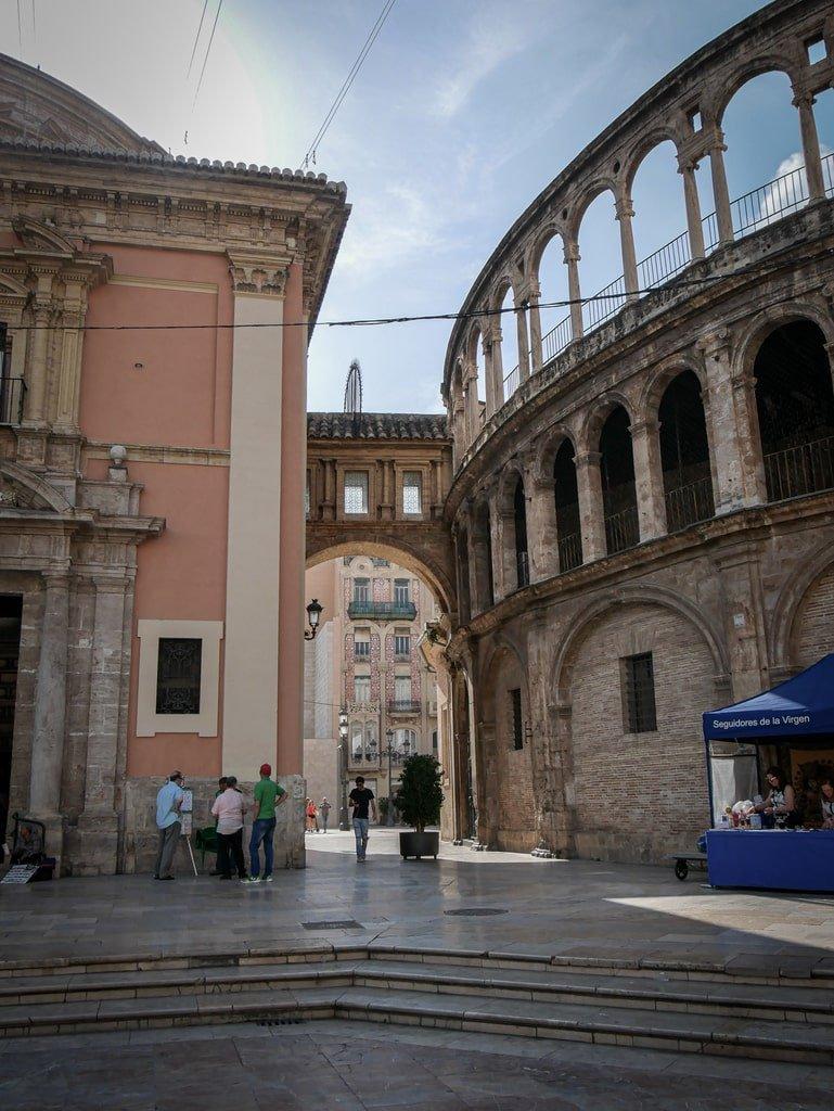 Vue sur la Cathédrale de Valence