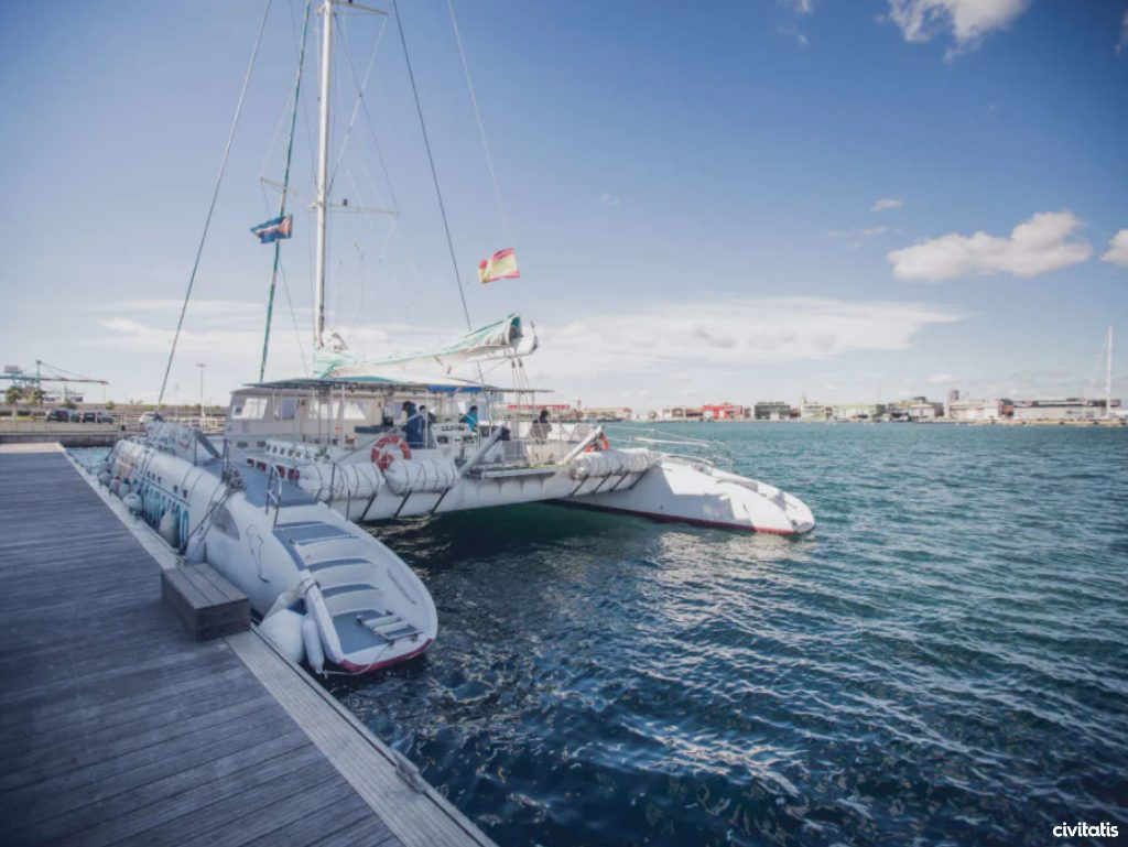 Plage Valence - Catamaran