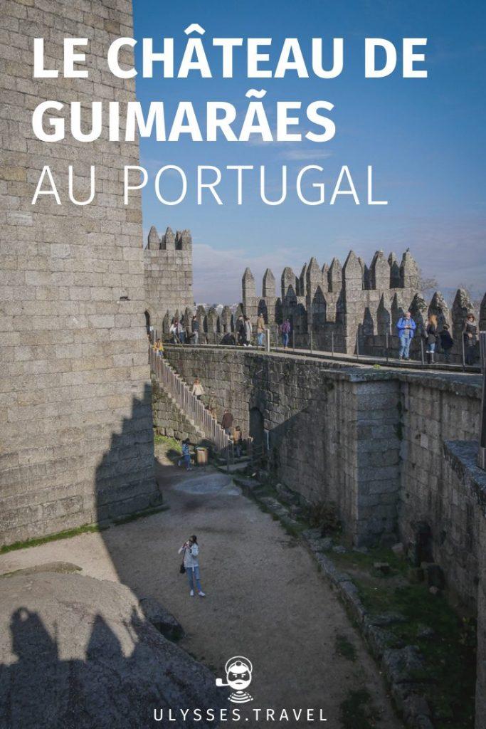 Château de Guimarães - Pinterest