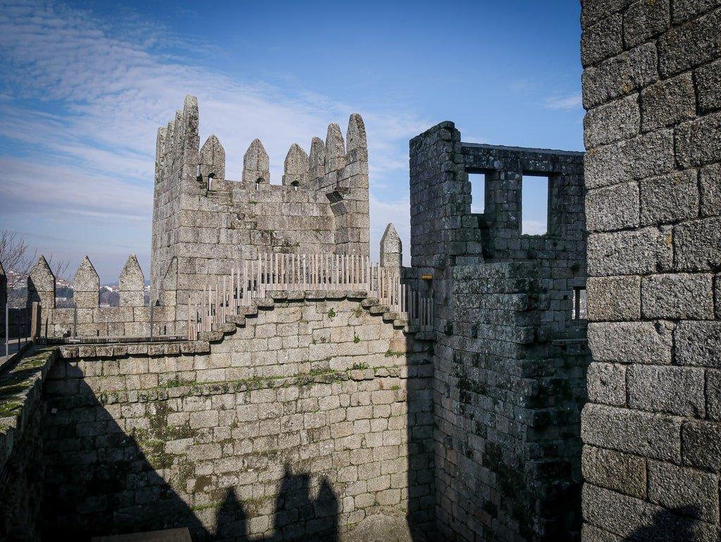 Intérieur du Château de Guimarães