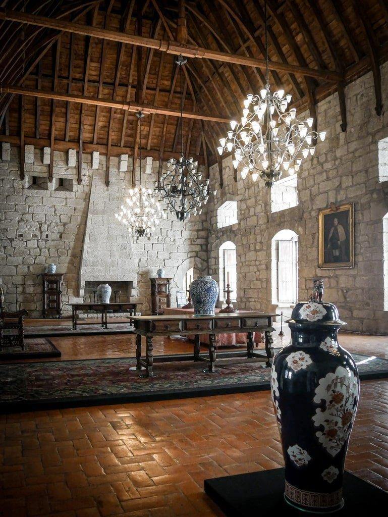 Intérieur du Palais des Ducs de Bragance
