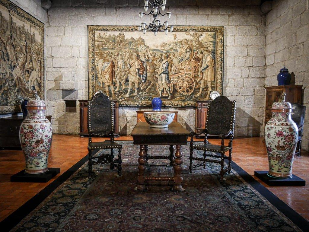 Palais des Ducs de Bragance - intérieur