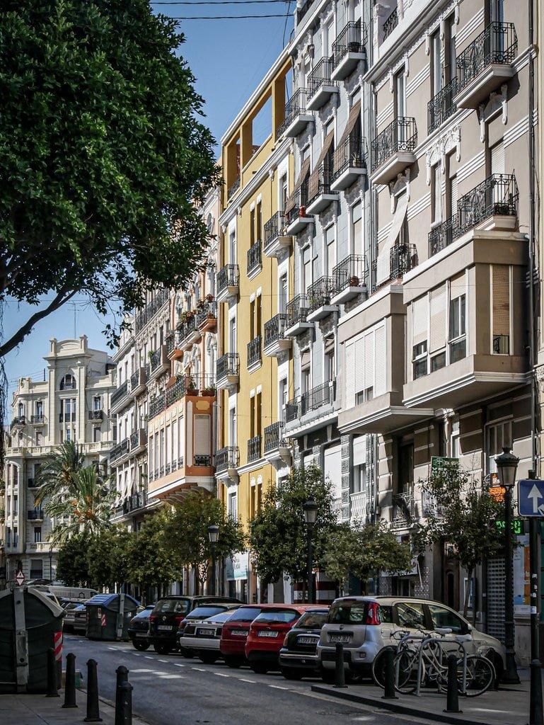 Visiter Valence - quartier de Ruzafa