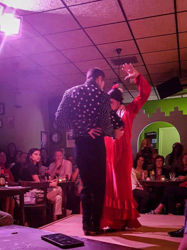 Visiter Valence - spectacle de flamenco