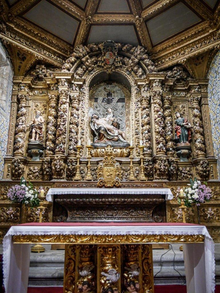 Cathédrale de Braga - Talha dourada