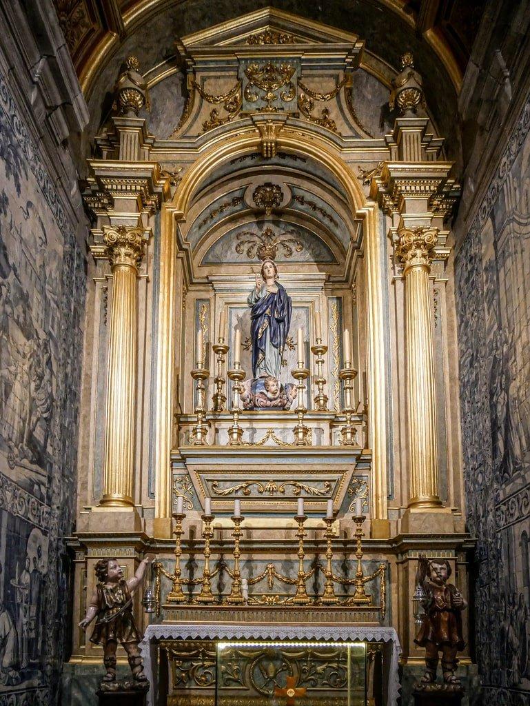 Cathédrale de Braga - intérieur