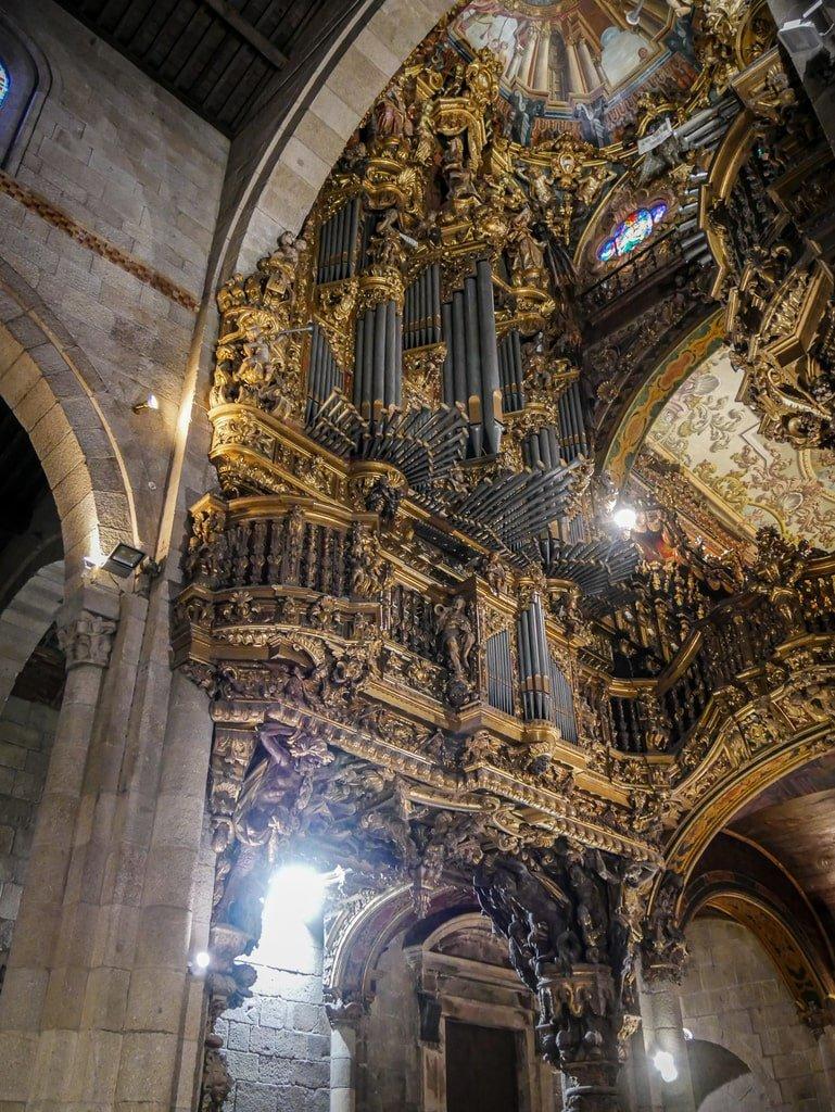 Cathédrale de Braga - orgue