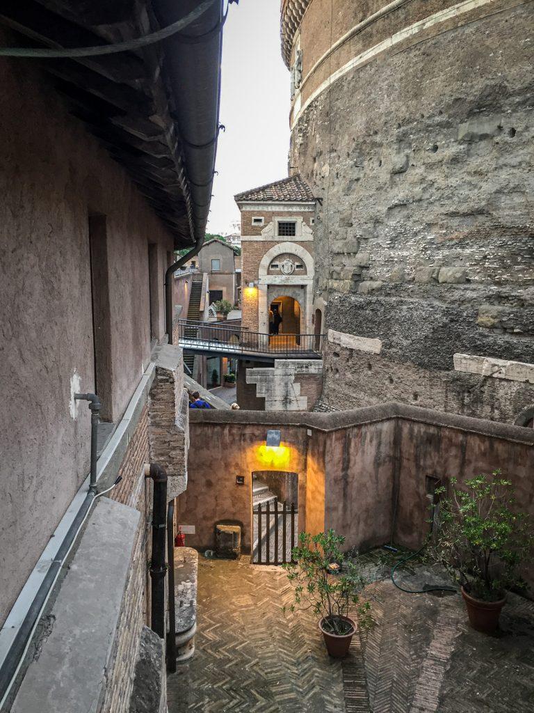 Castel Sant-Angelo - cour intérieure