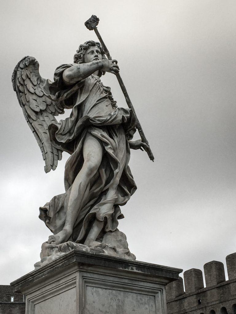 Castel Sant'Angelo - statue de l'archange