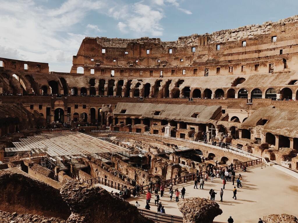 Colisée - Rome - gradins