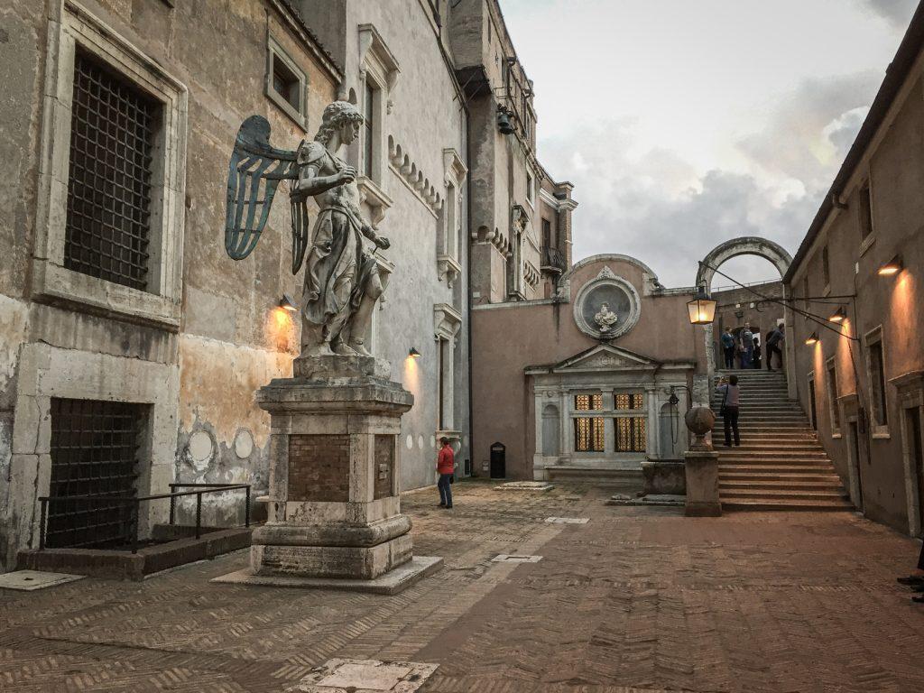 Cour intérieure - Castel Sant'Angelo