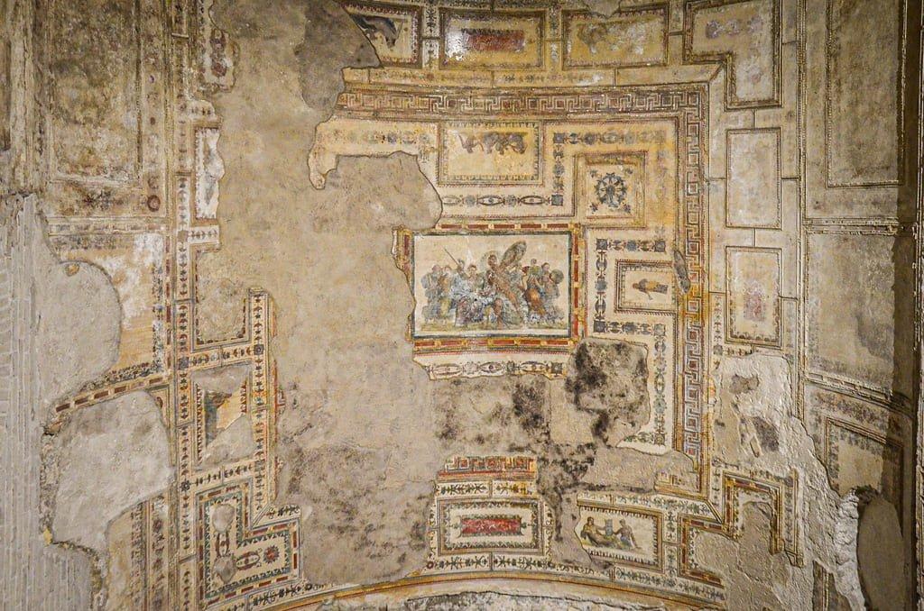 Domus Aurea - plafond