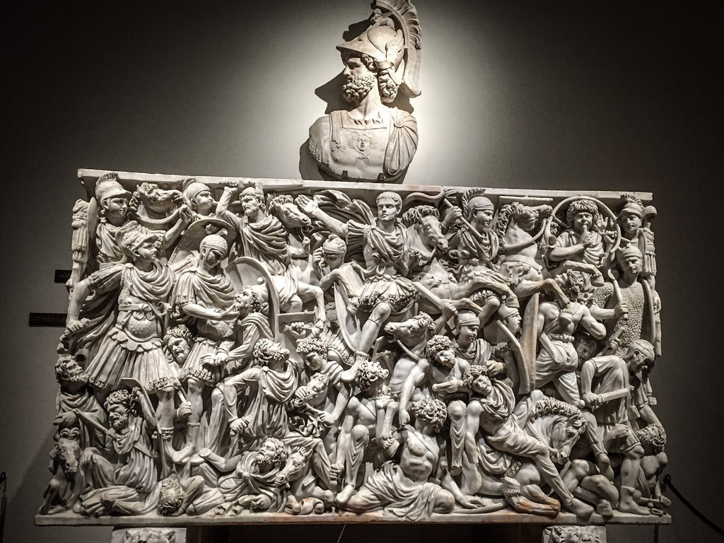 Palais Altemps - Sarcophage Ludovisi