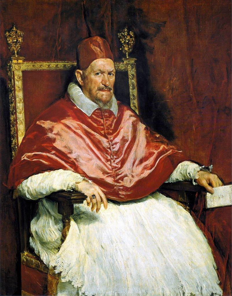 Palazzo Doria Pamphilj - Portrait du pape Innocent X - Diego Vélazquez