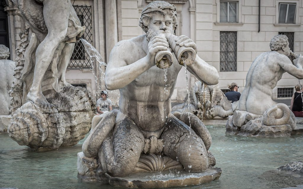 Piazza Navona - Fontaine du Maure