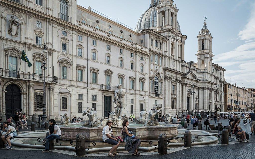 Piazza Navona - Palazzo Pamphili
