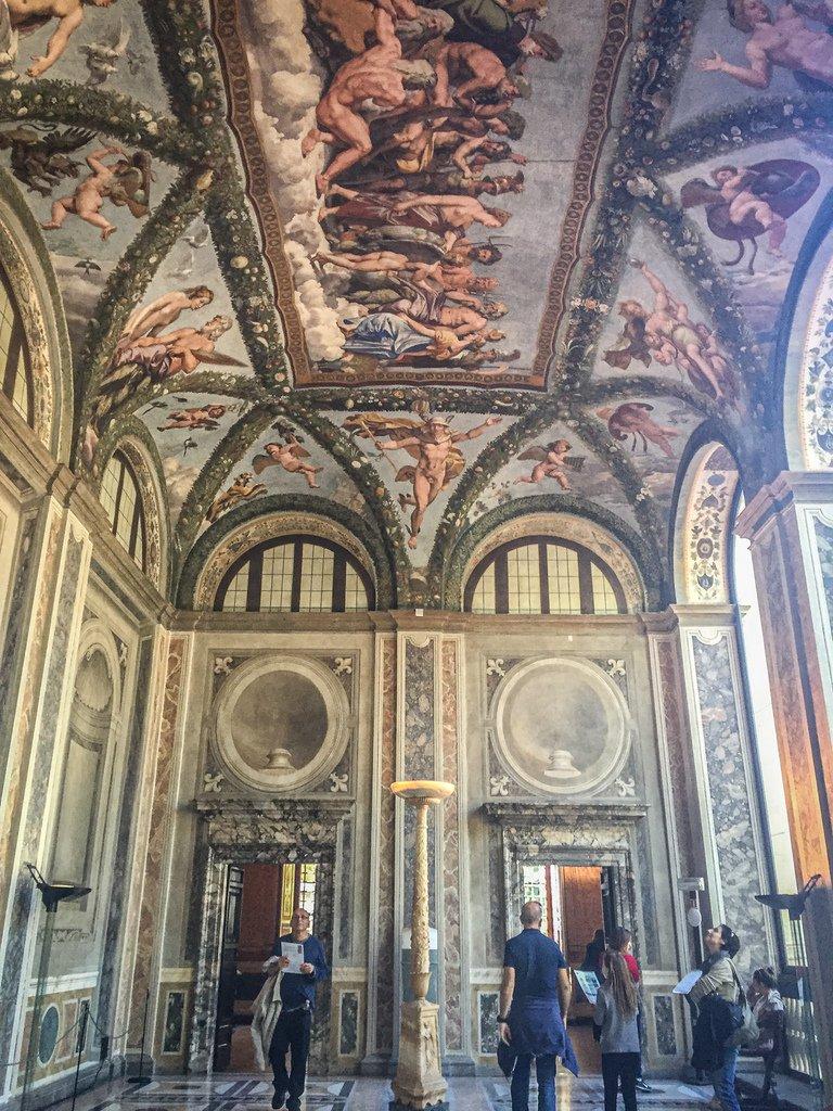 Villa Farnesina - La Loggia de l'Amour et Psychée
