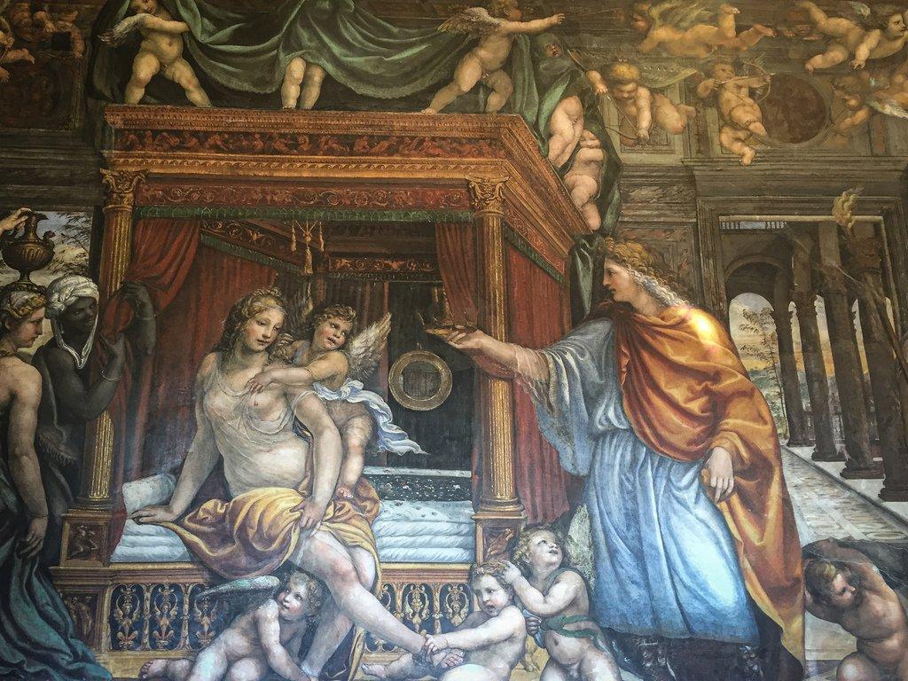 Villa Farnesina - Les Noces d'Alexandre et de Roxane
