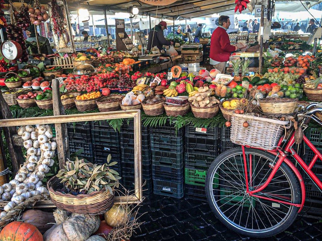 Campo de' Fiori - marché