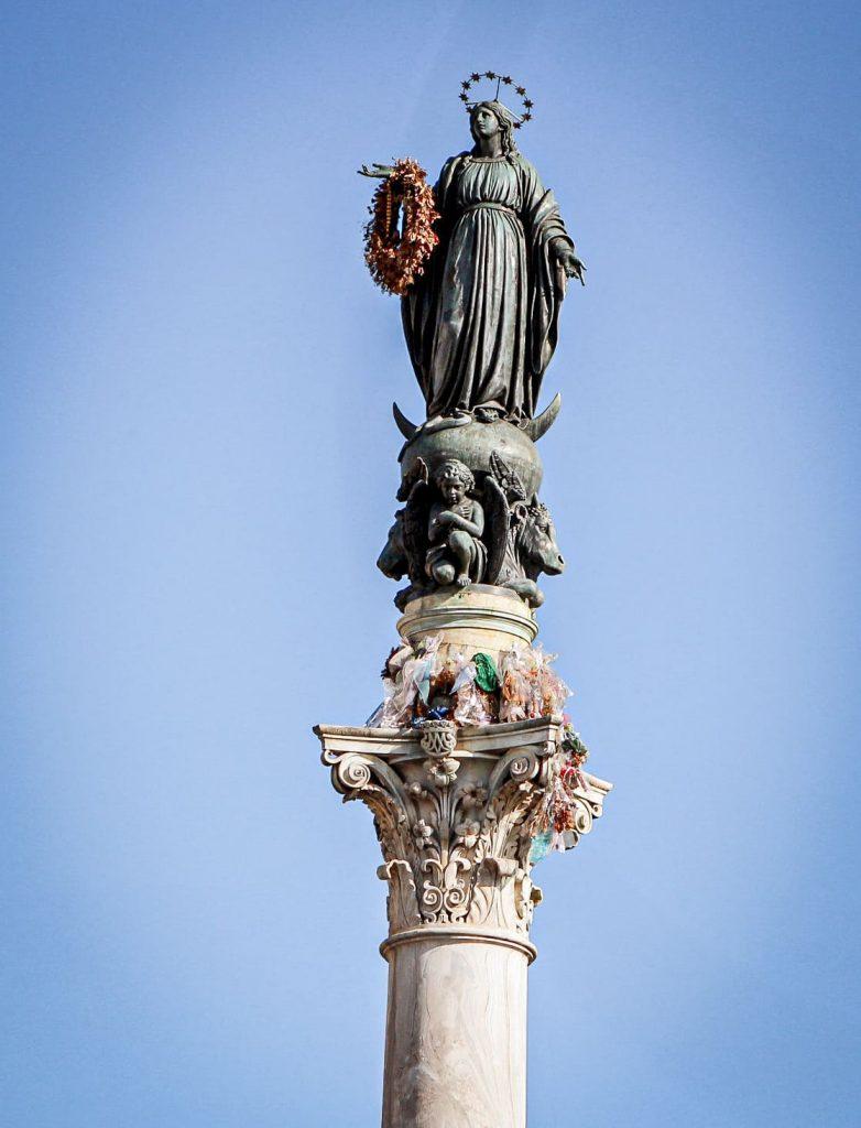 Colonne de l'Immaculée Conception - Piazza di Spagna