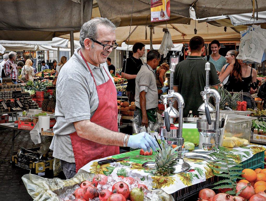 Marché du Campo de' Fiori