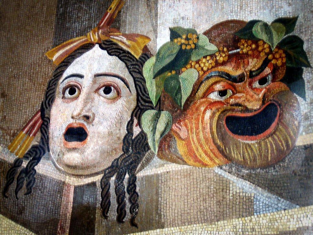 Musées capitolins - mosaïque