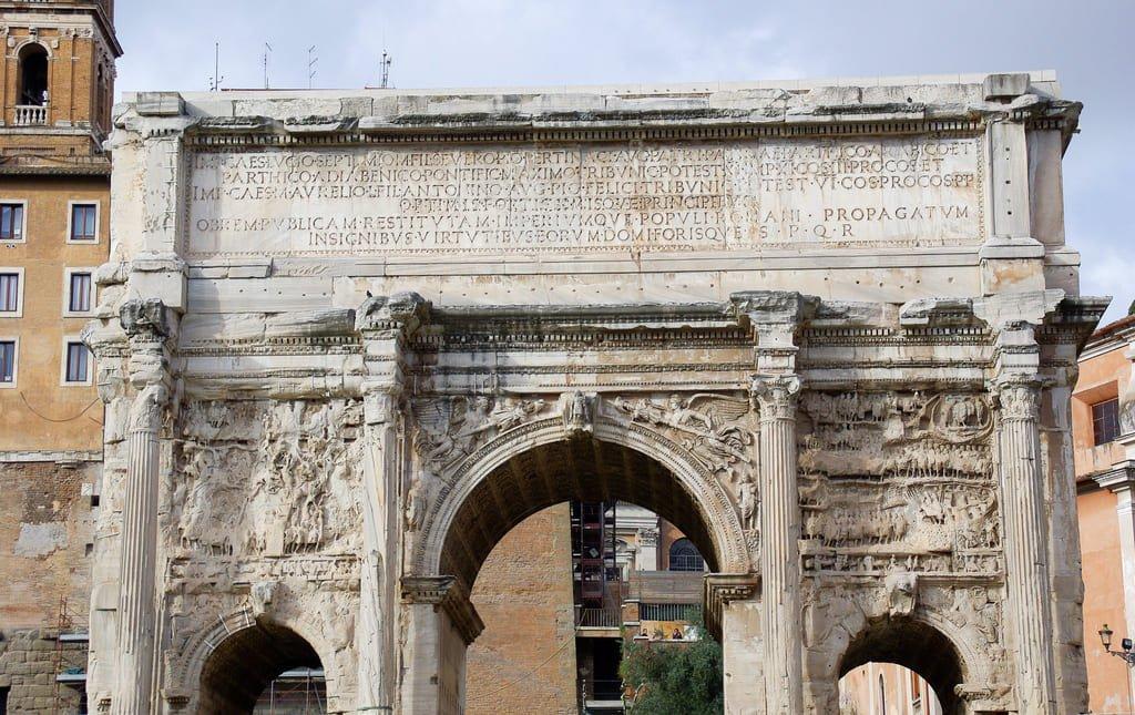 Arc de Septime Sévère - Forum romain