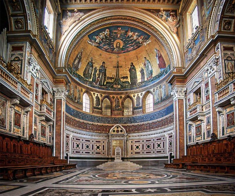 Basilique Saint-Jean-de-Latran - abside