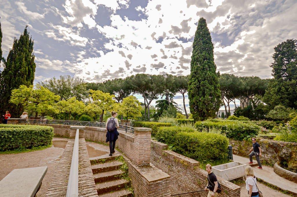 Mont Palatin - Jardins Farnese