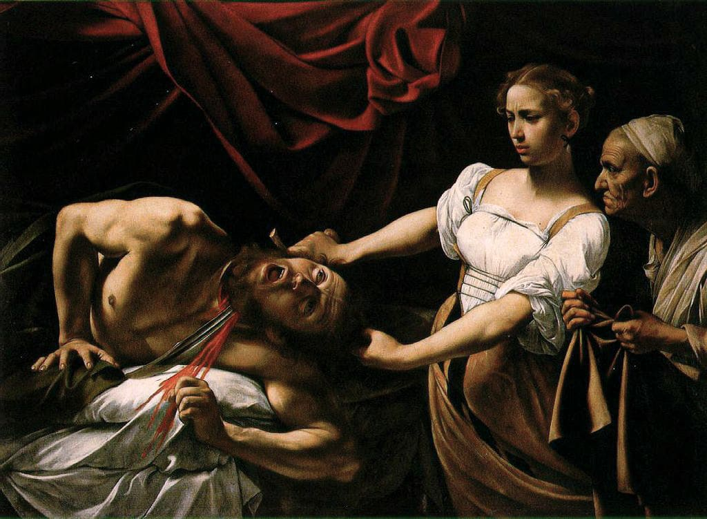 Palazzo Barberini - Le Caravage - Judith et Holopherne