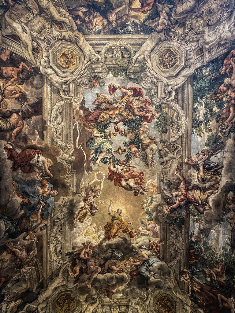 Palazzo Barberini - plafond - Pierre de Cortone