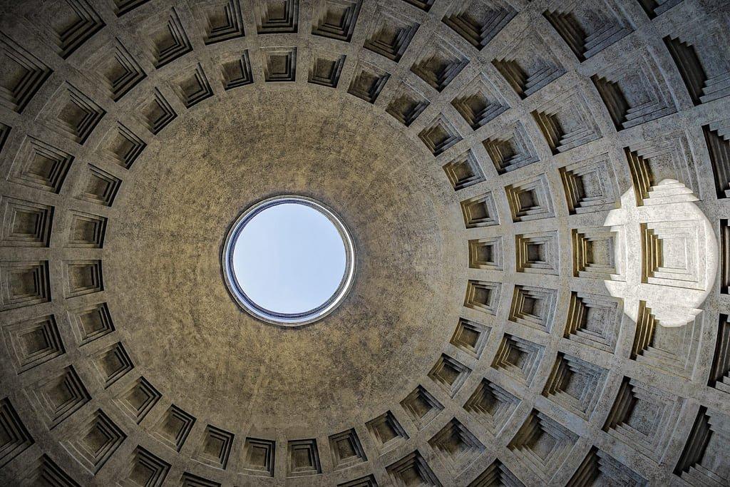 Panthéon de Rome - coupole