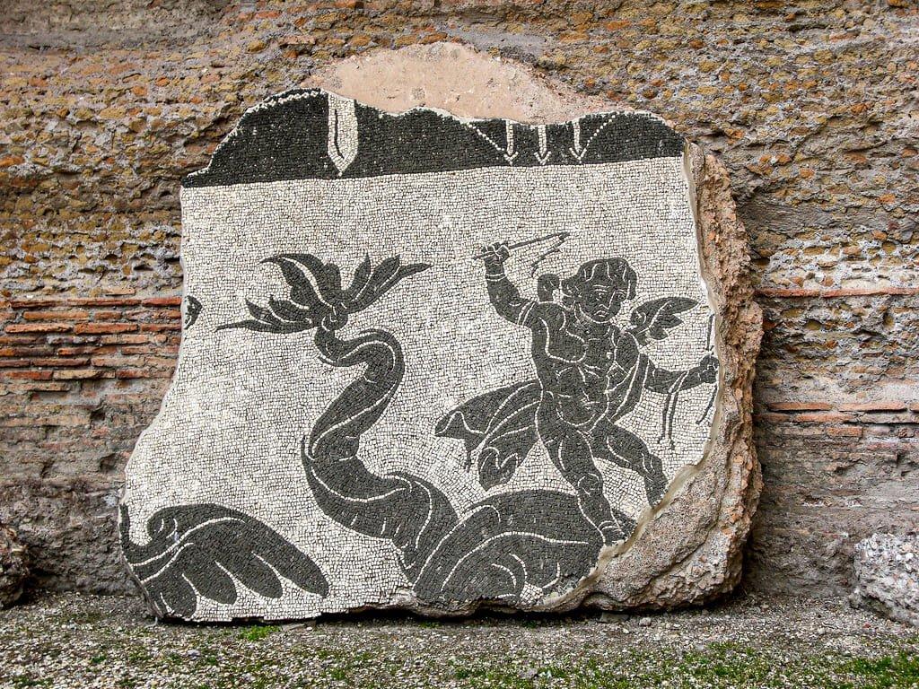 Thermes de Caracalla - mosaïque