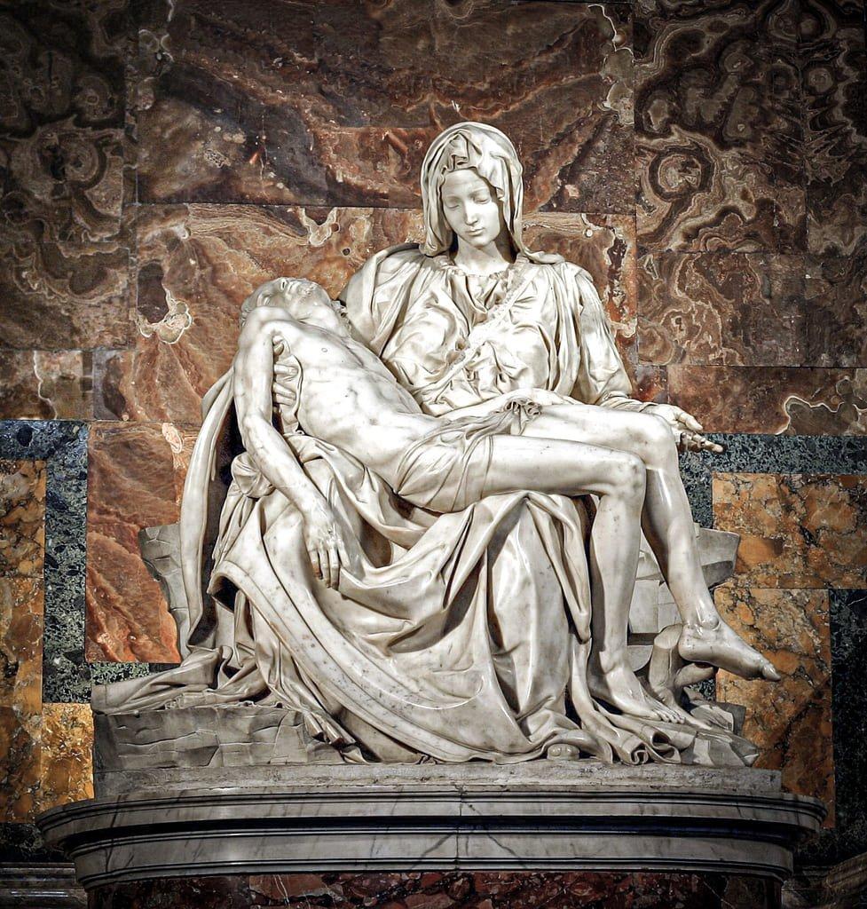 Basilique Saint-Pierre - Pieta de Michel-Ange