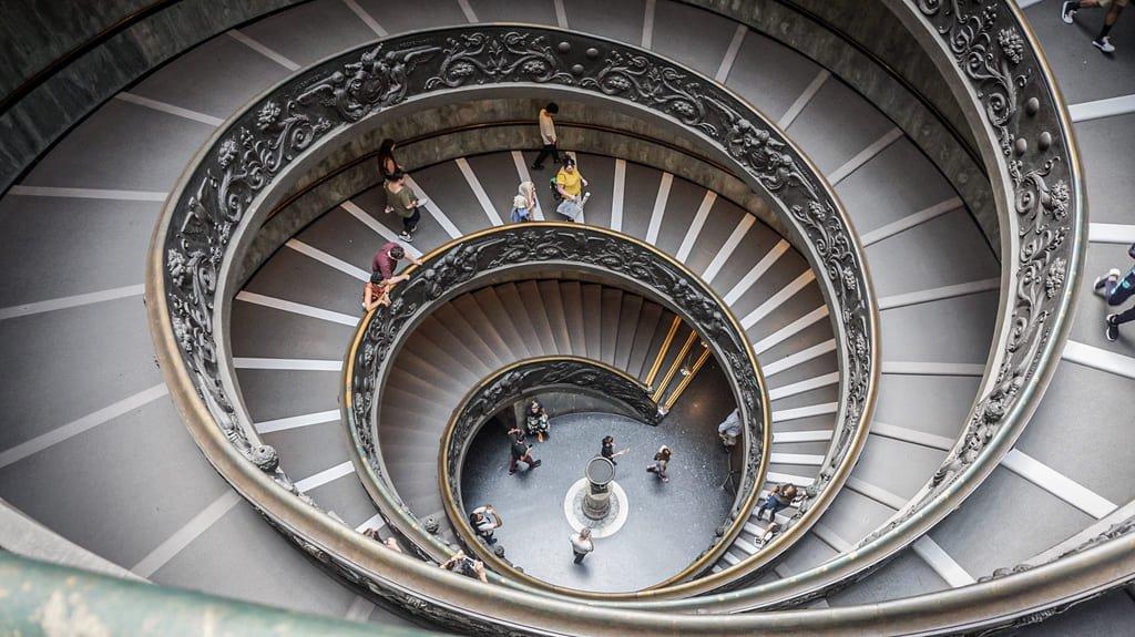 Escaliers de Bramante - Musées du Vatican
